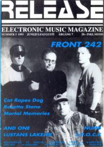 Omslaget till Release #1993-03