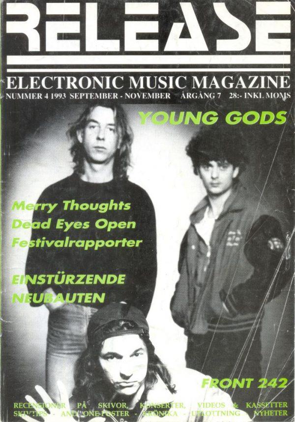 Omslaget till Release #1993-04