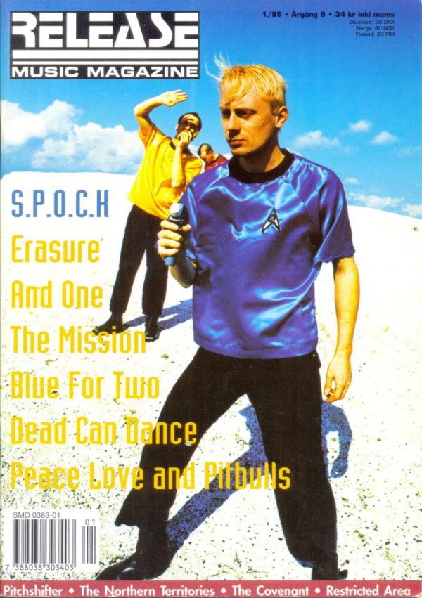 Omslaget till Release #1995-01