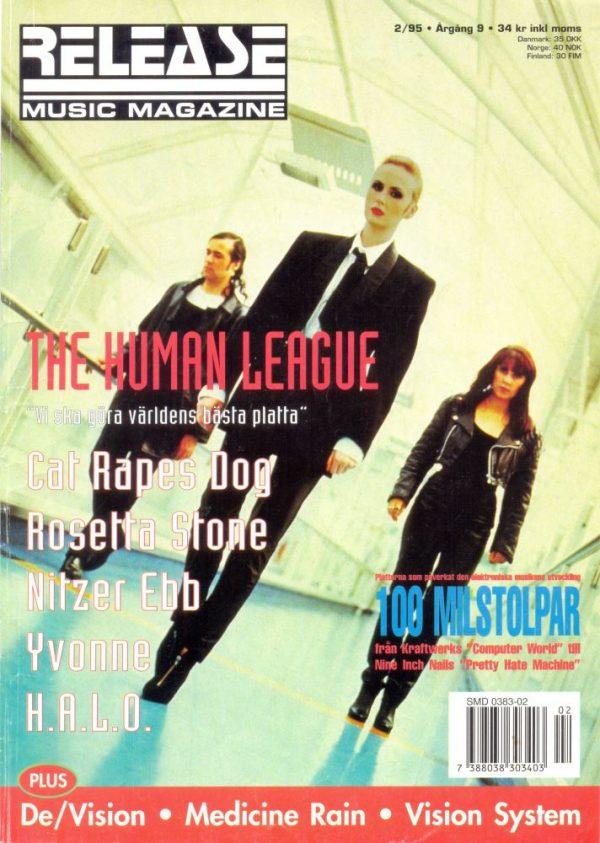 Omslaget till Release #1995-02