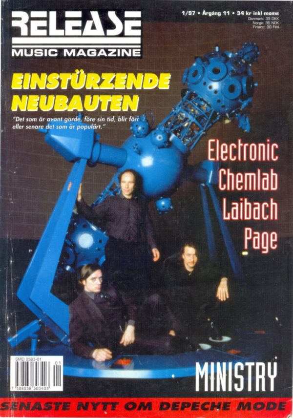 Omslaget till Release #1997-01