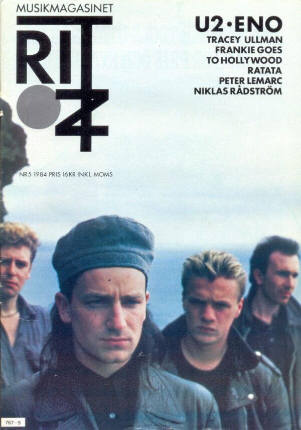 Omslaget till Ritz #1984-05