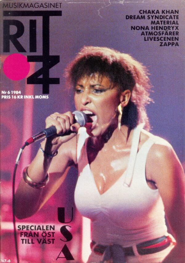 Omslaget till Ritz #1984-06
