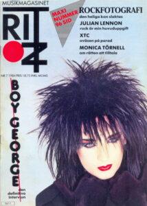 Omslaget till Ritz #1984-07