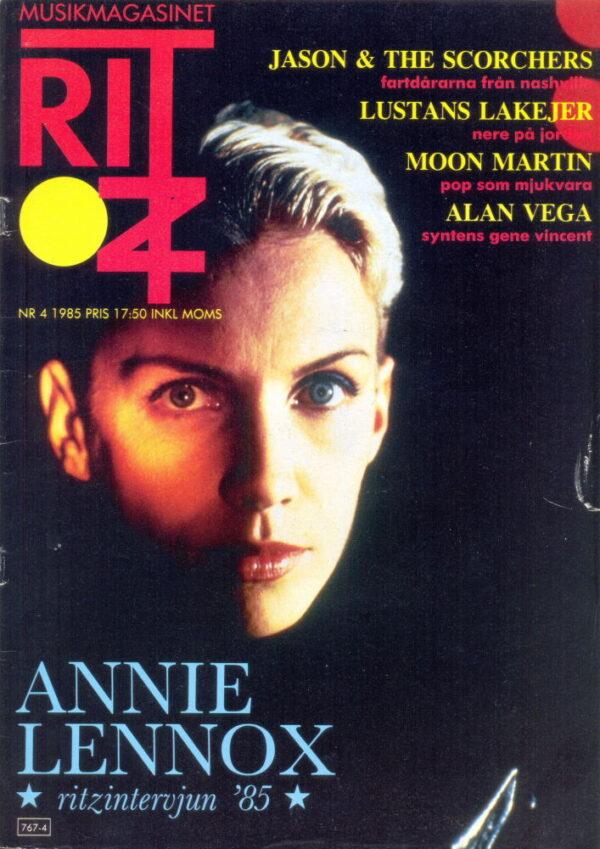 Omslaget till Ritz #1985-04