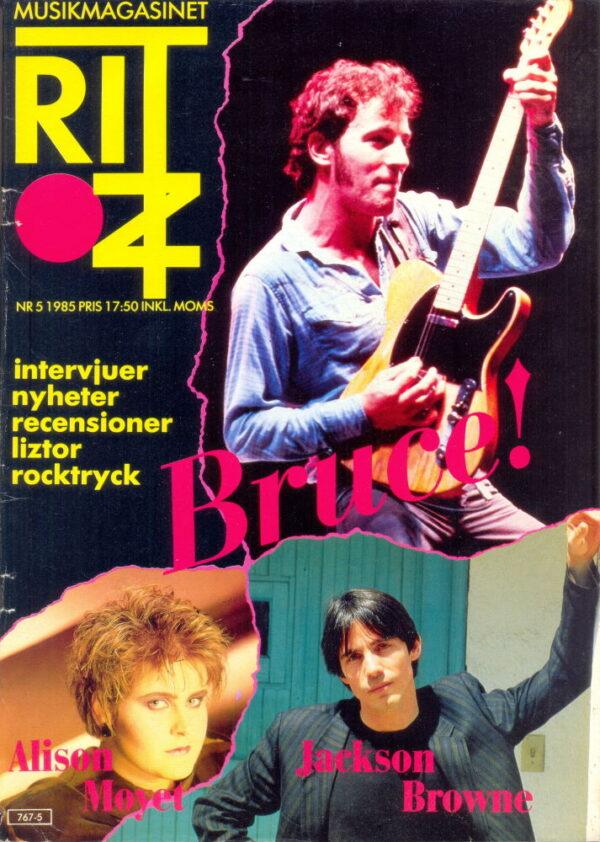 Omslaget till Ritz #1985-05
