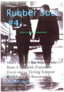 Omslaget till Rubber Soul #04 (1997)