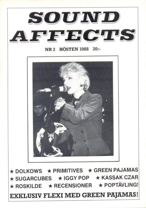 Omslaget till Sound Affects #02 (1988)