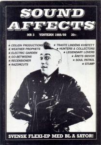 Omslaget till Sound Affects #03 (1988/1989)