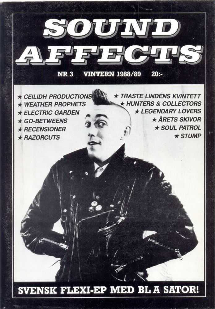Omslaget till Sound Affects #03 (1988/1989)