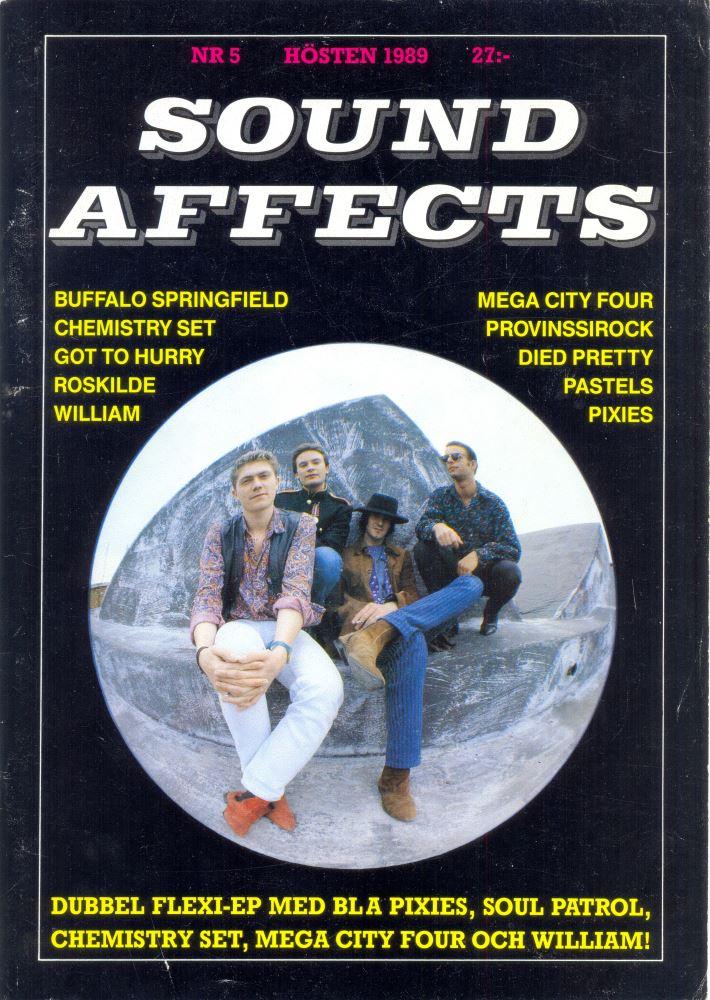 Omslaget till Sound Affects #05 (1989)