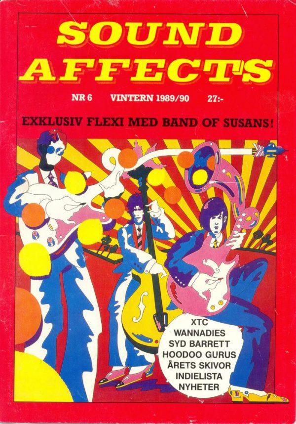 Omslaget till Sound Affects #06 (1989/1990)