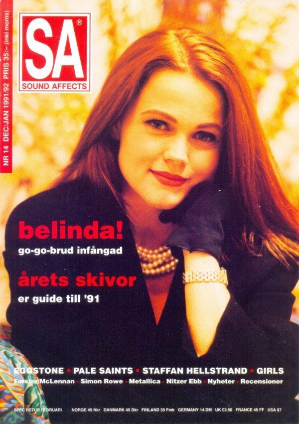 Omslaget till Sound Affects #14 (1991/1992)