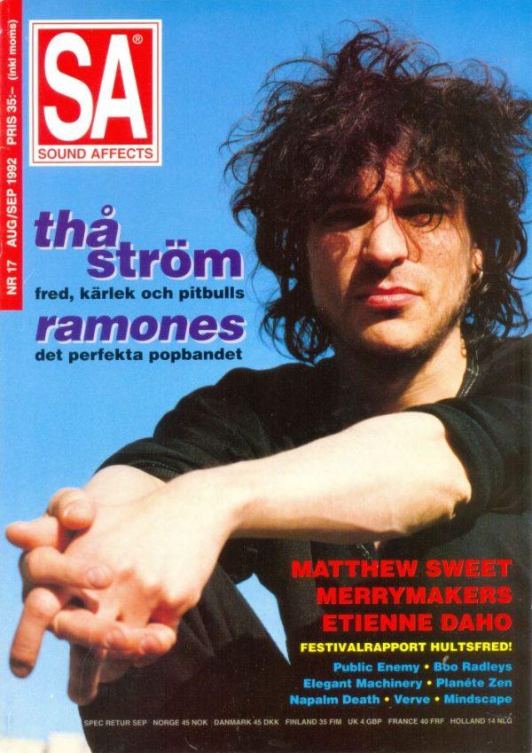 Omslaget till Sound Affects #17 (1992)