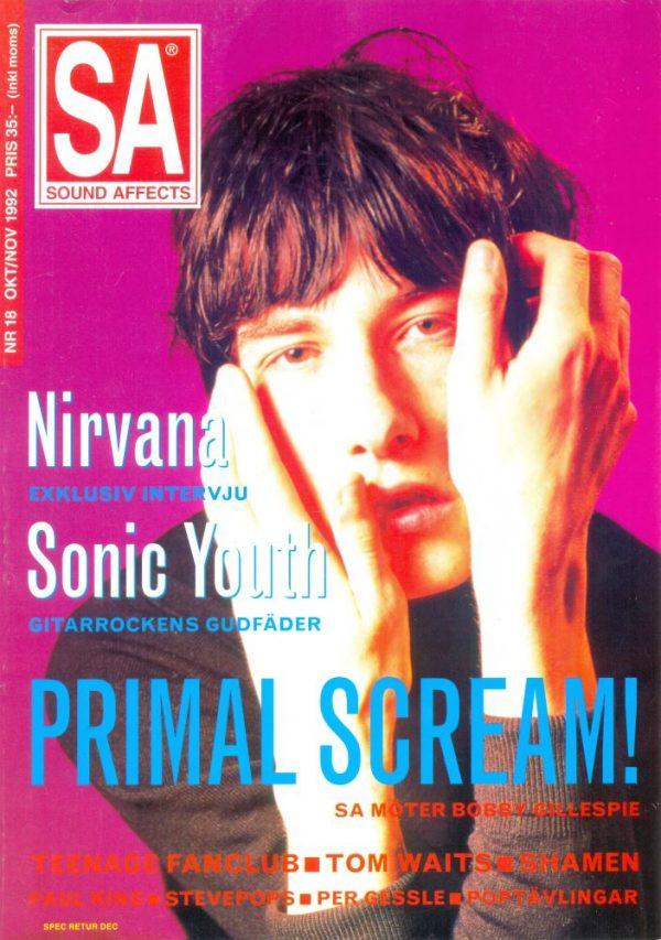 Omslaget till Sound Affects #18 (1992)