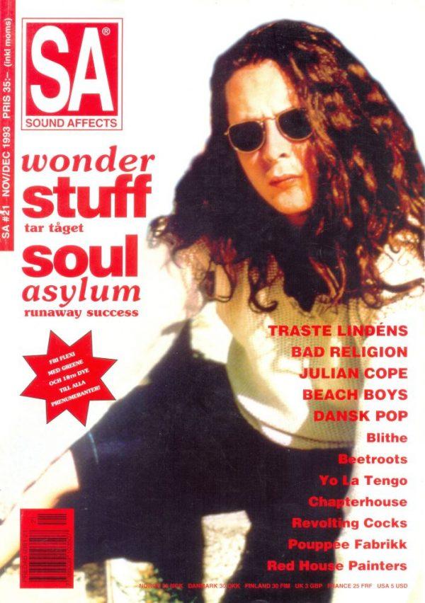 Omslaget till Sound Affects #21 (1993)