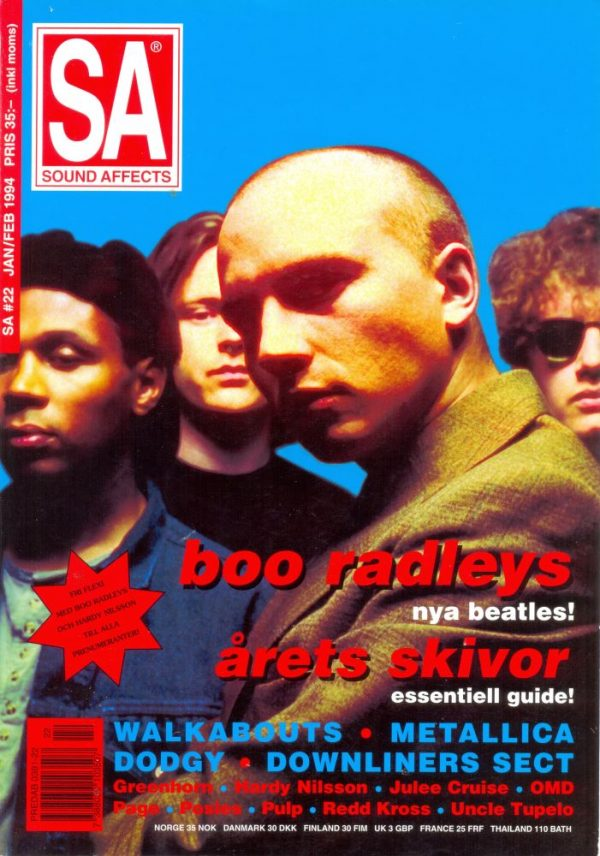 Omslaget till Sound Affects #22 (1994)