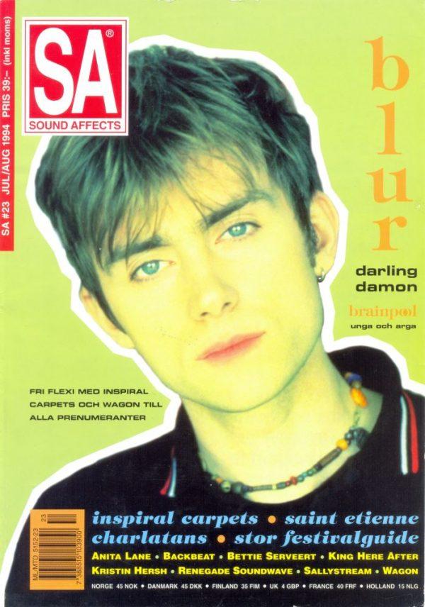 Omslaget till Sound Affects #23 (1994)