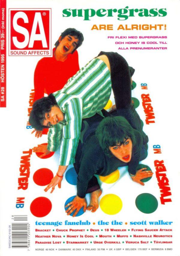Omslaget till Sound Affects #28 (1995)
