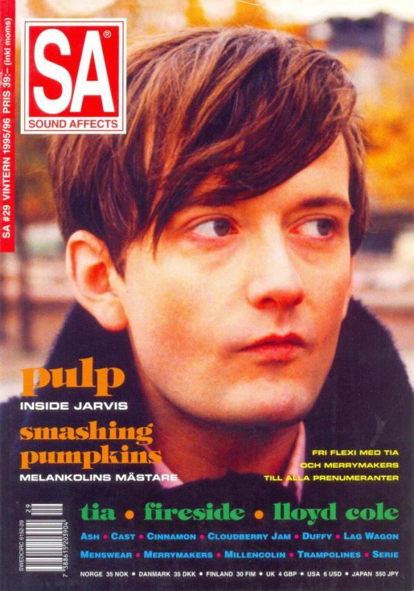 Omslaget till Sound Affects #29 (1996)