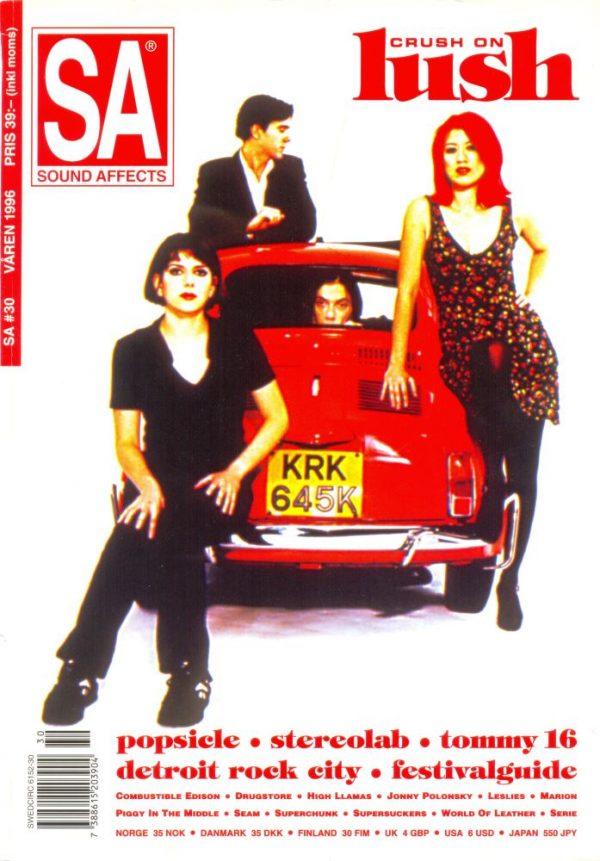 Omslaget till Sound Affects #30 (1996)