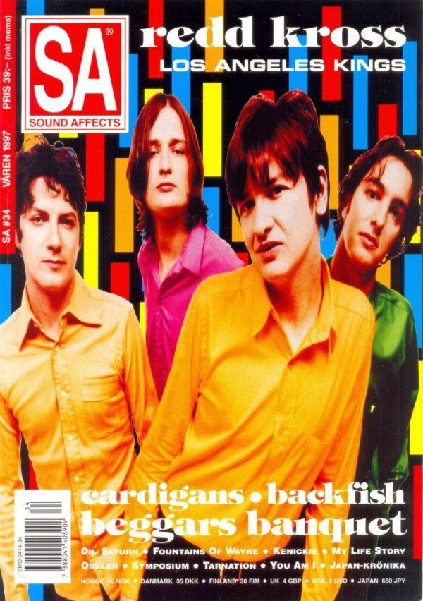 Omslaget till Sound Affects #34 (1997)