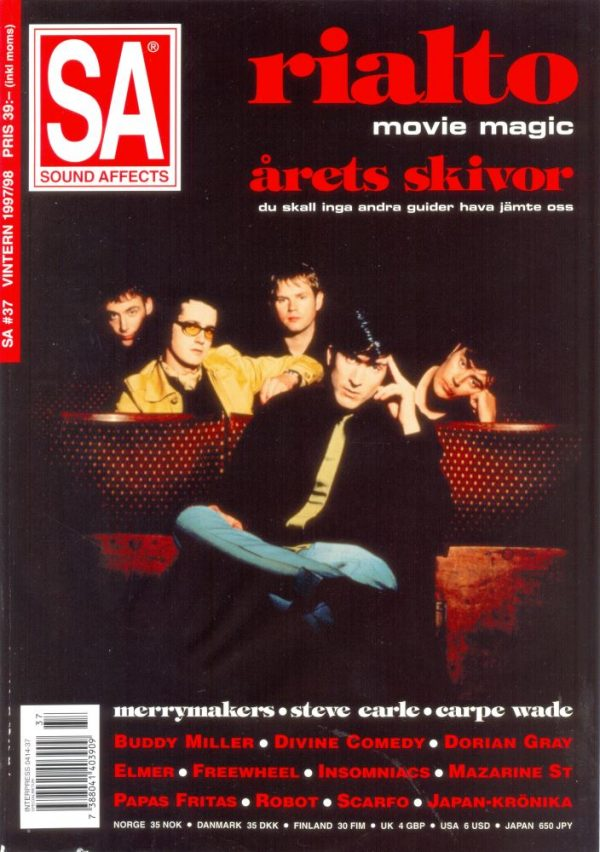 Omslaget till Sound Affects #37 (1997)