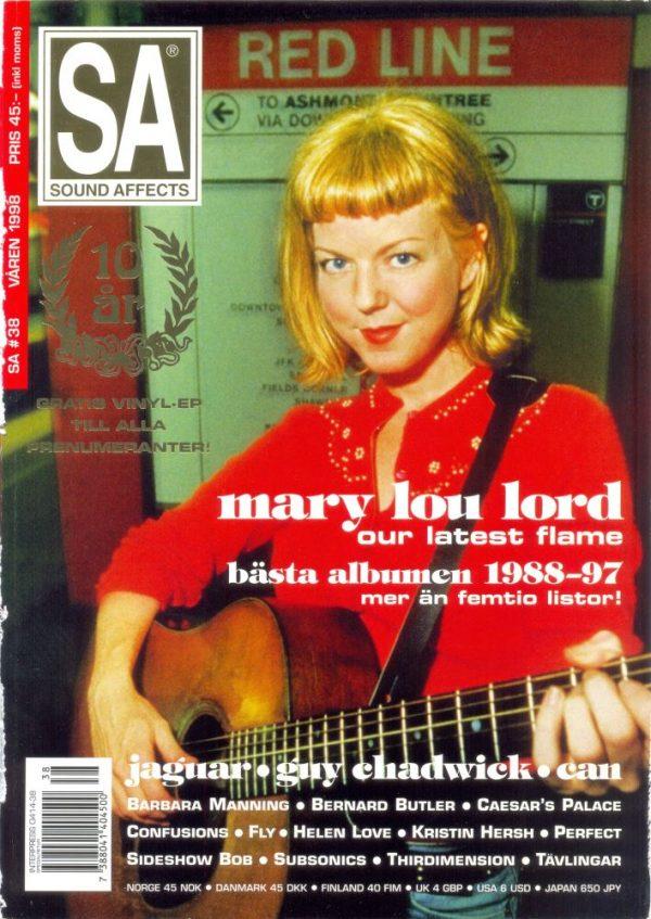 Omslaget till Sound Affects #38 (1998)