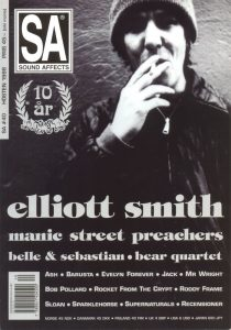 Omslaget till Sound Affects #40 (1998)