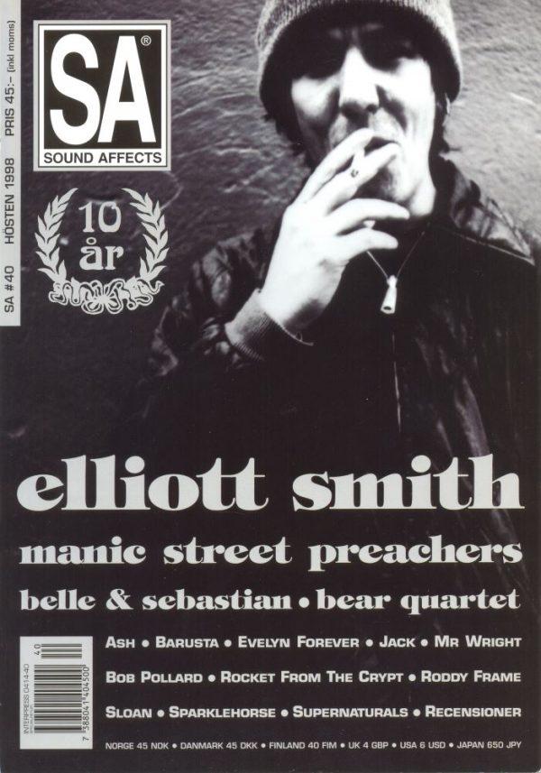 Omslaget till Sound Affects #40 (1998)