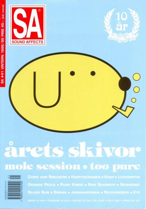 Omslaget till Sound Affects #41 (1998/1999)