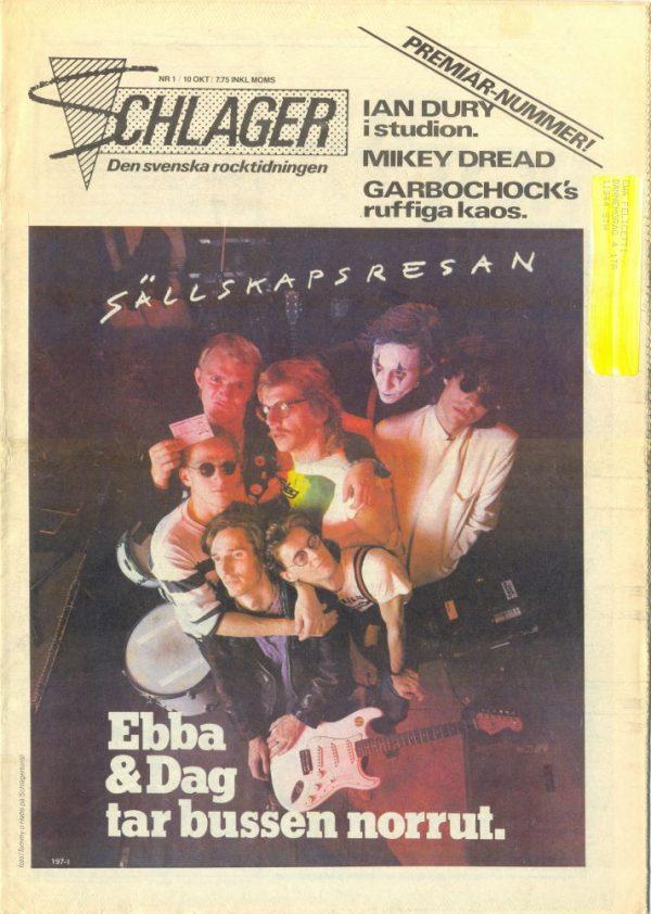 Omslaget till Schlager #001 (1980)