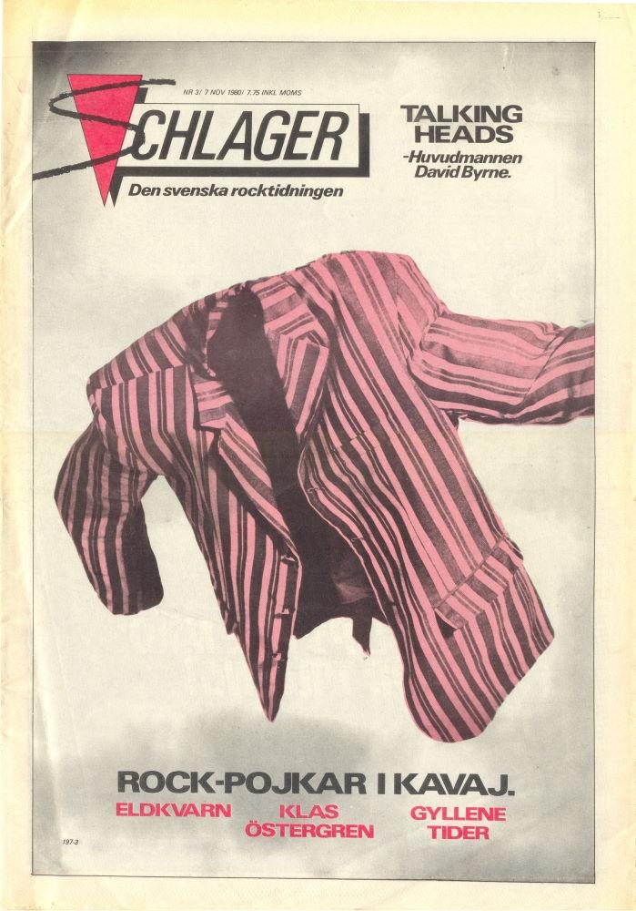 Omslaget till Schlager #003 (1980)