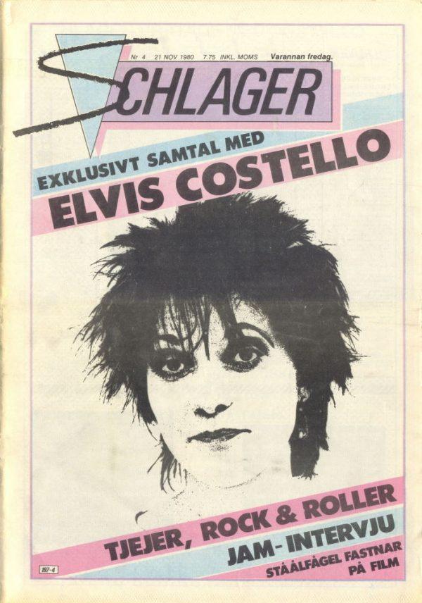 Omslaget till Schlager #004 (1980)