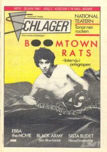 Omslaget till Schlager #009 (1981)