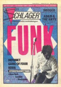 Omslaget till Schlager #012 (1981)