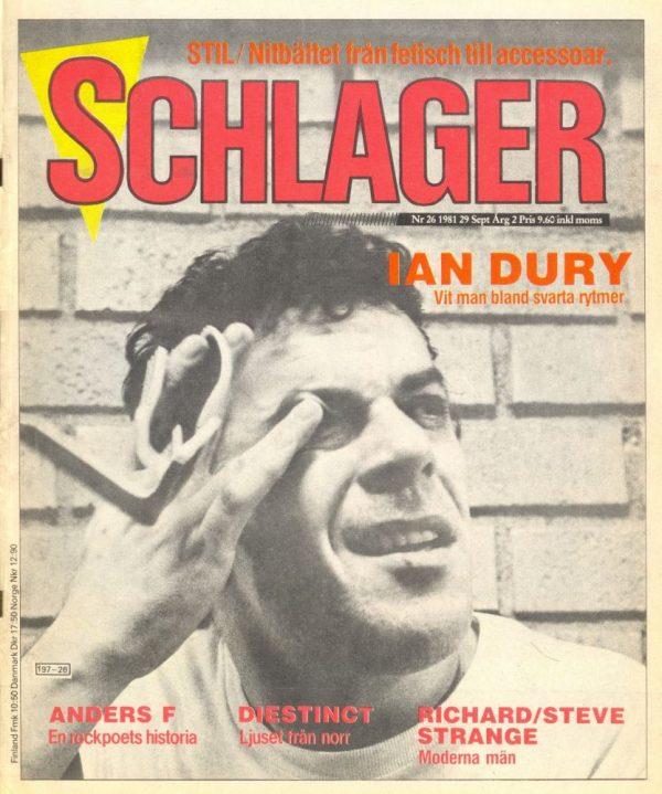 Omslaget till Schlager #026 (1981)