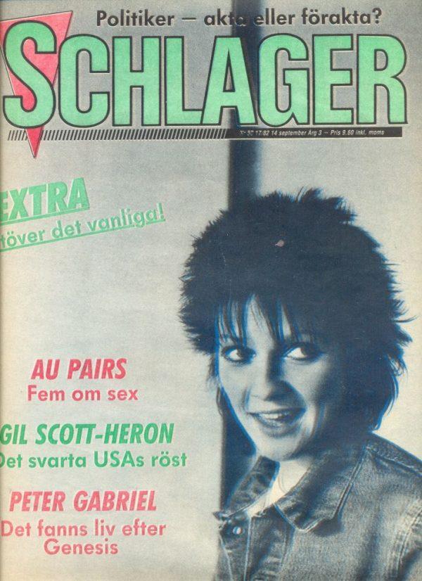 Omslaget till Schlager #050 (1982)