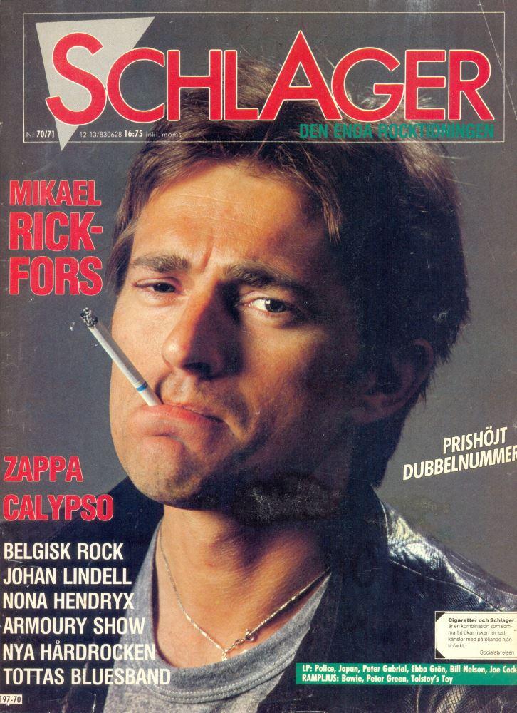 Omslaget till Schlager #070/071 (1983)