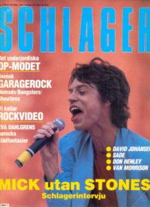 Omslaget till Schlager #1985-01