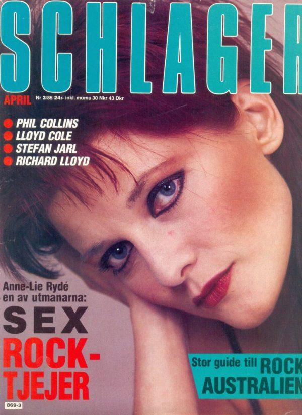 Omslaget till Schlager #1985-03