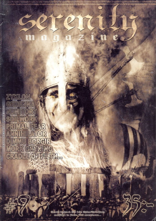 Omslaget till Serenity #09 (2001)