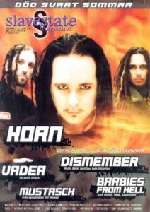 Omslaget till Slavestate #03 (2002)