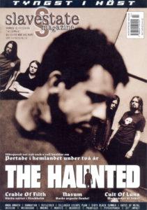 Omslaget till Slavestate #12 (2004)