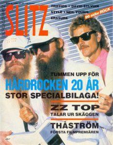 Omslaget till Slitz #1986-07/08