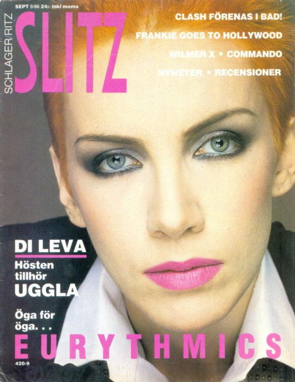 Omslaget till Slitz #1986-09