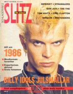 Omslaget till Slitz #1986-12