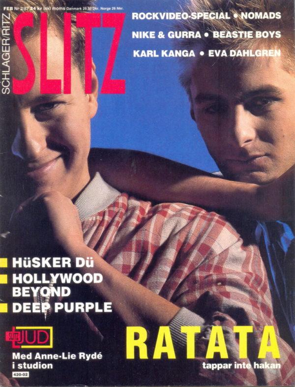 Omslaget till Slitz #1987-02