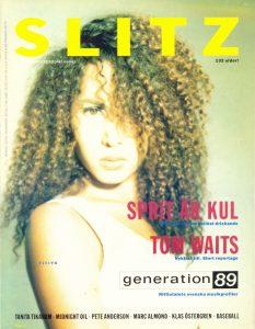 Omslaget till Slitz #1988-09