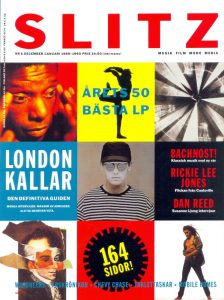 Omslaget till Slitz #1989-06